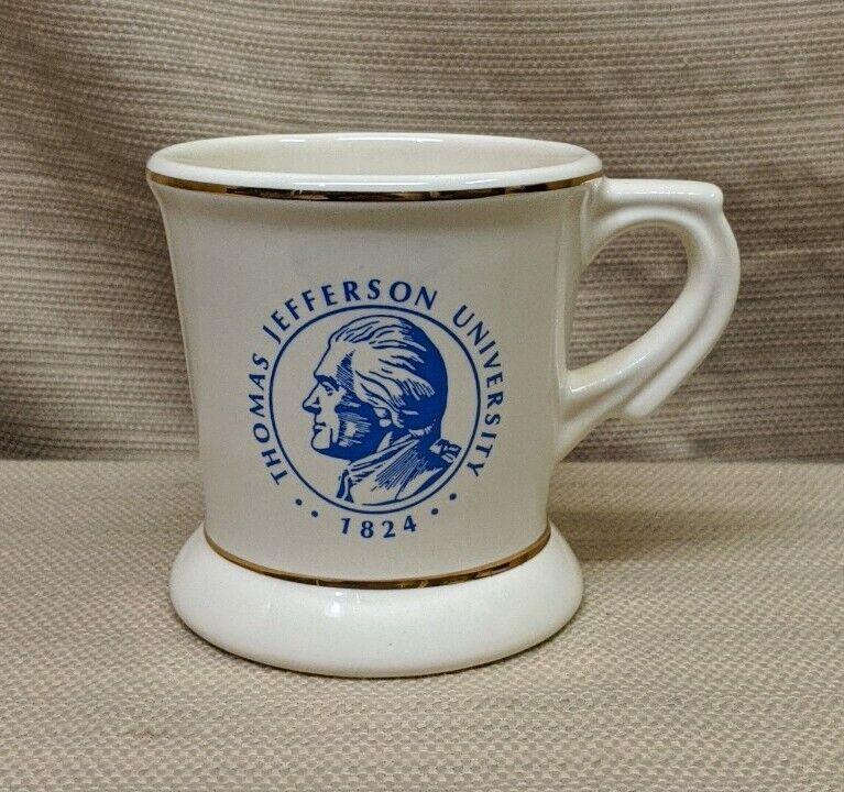 Vintage Thomas Jefferson University 1824 Griffith Pottery Oreland PA USA Mug