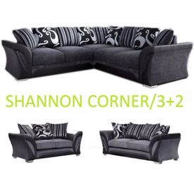 corner or 3plus2 Shannon sofa with many more sofas on offer, call me now to order