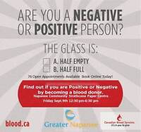 Napanee Community Blood Donor Clinic