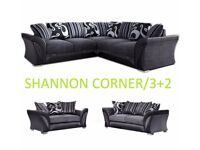3+2 shannon sofa or corner sofa, great sofas, fast delivery so call now to order