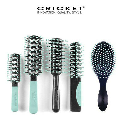 Cricket   Static Free    Lite Blue  Comfort Collection    Choose A Hair Brush