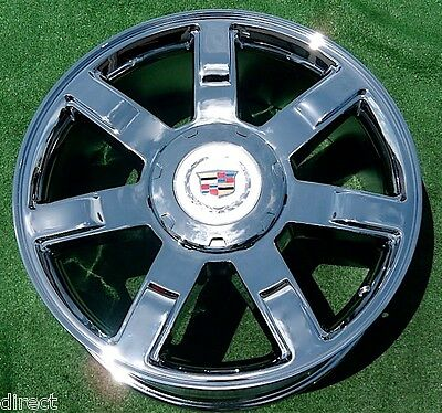 2011 2012 2013 Cadillac Escalade Chrome 22 inch OEM Factory GM Spec WHEEL 5309