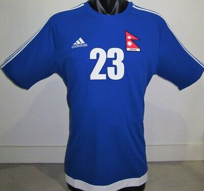 2017 NEPAL National football soccer jersey maglia calcio Player issue image