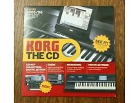 Korg, Roland & Boss and VOX Valvetronix Demo CD / CD-ROM / DVD