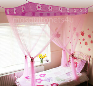 Princess Bed Canopy With Tie Backs & Gift Bag