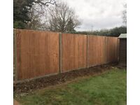 BMS Landscaping Fencing contractors Fence panel and post Fencer landscaper landscape gardener