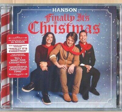HANSON Finally It's Christmas CD A Wonderful Xmas Time  JOY TO THE MOUNTAIN  ()