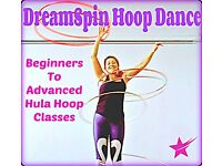 Hula Hoop - Intermediate Course - Advance Your Hoop Skills - Starts 10th January 6.15pm