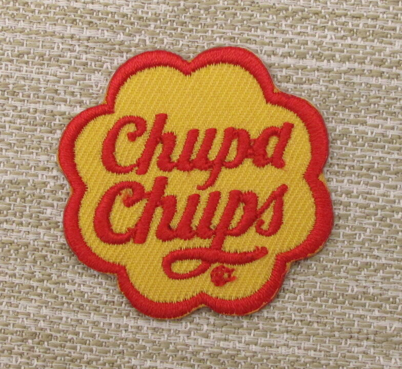 CHUPA CHUPS Single  Embroidered Iron On Patch Retro