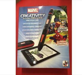 JOBLOT 48 PACKS OF MARVEL CREATIVITY STUDIO DELUXE DRAWING GAME APP BRAND NEW