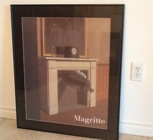 Surreal framed print Time Transfixed