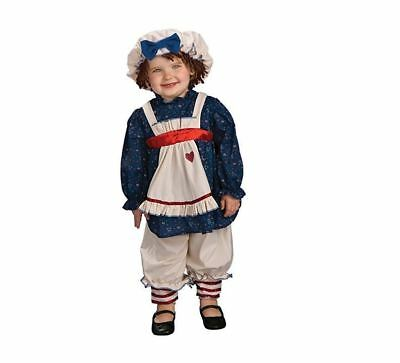 Yarn Babies Ragamuffin Dolly Halloween Baby Dress Up Costume, 6-12 Months