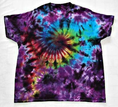 Tie Dye T Shirt Galaxy Swirl Handmade Tye Die Adult S M L XL 2XL 3XL 4XL 5XL Adult Tye Dye T-shirt