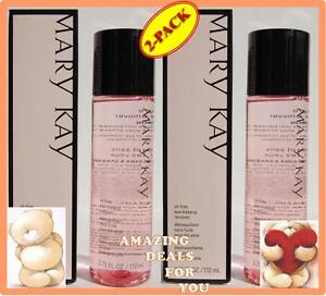 LOT OF 2 MARY KAY OIL FREE EYE MAKEUP REMOVER FRESH EXP 2015