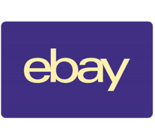 eBay Canada Gift Card $25, $50, or $100 - email delivery