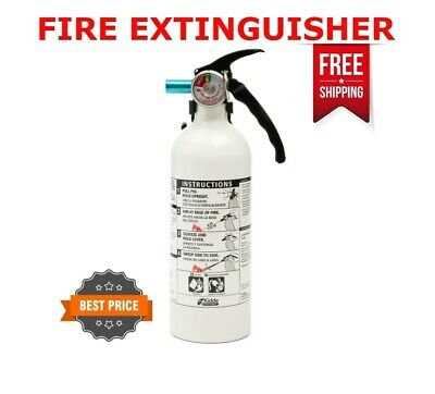 Fire Extinguisher Car Homeofficemarine Safety Kidde 5-bc 3-lb Disposable
