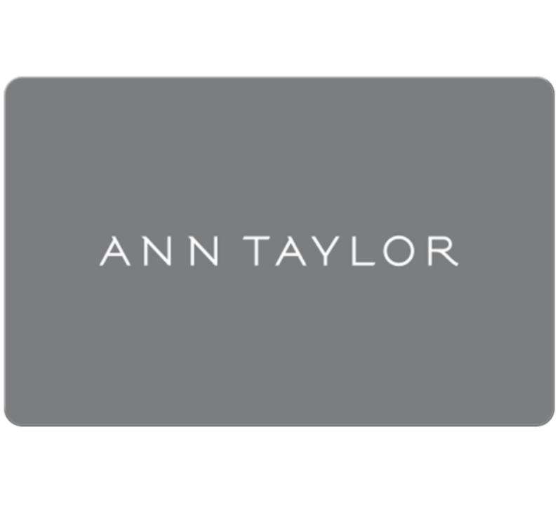 Ann Taylor Gift Card - 25, 50 Or 100 Email Delivery  - $25.00