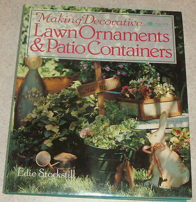Lawn Ornaments & Patio Containers Making Decorative HB DJ Edie Stockstill