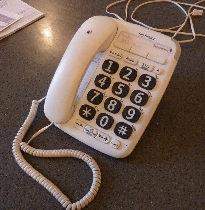 big button phone