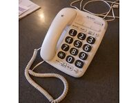 BT big button corded phone