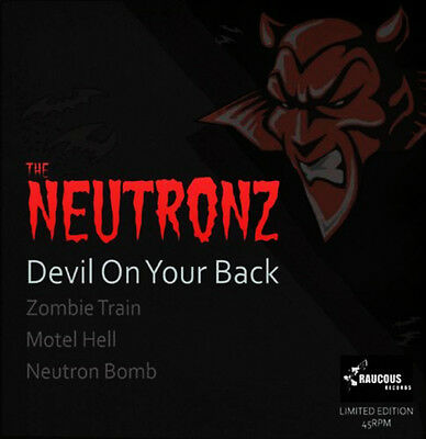 "NEUTRONZ Devil On Your Back 7"" EP rockabilly PINK VINYL psychobilly vinyl NEW"