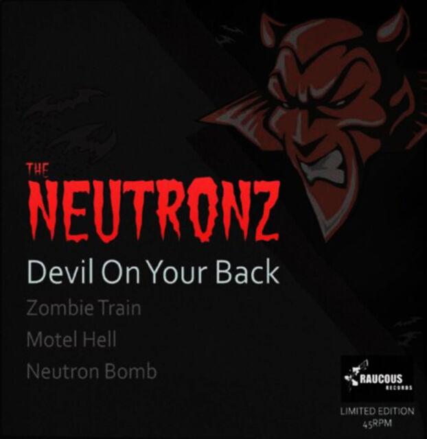 """THE NEUTRONZ Devil On Your Back 7"""" EP - PINK VINYL - rockabilly psychobilly NEW"""