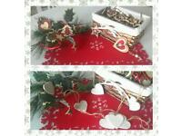 Handmade Christmas felt,fabric or wooden decorations