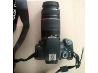 Canon EOS 700d digital camera, used but in great condition. Comes with two lenses.
