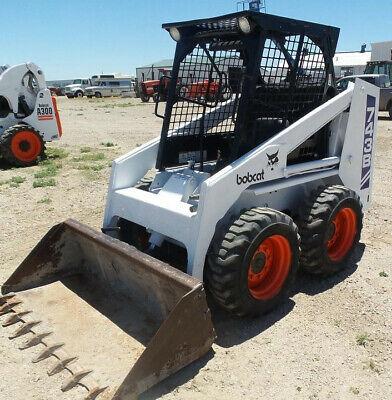 Bobcat 741 742 743 Skid Steer Loader Service Manual Cd Repair Manual Sm