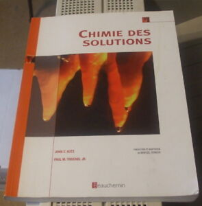 EDU Chimie des solutions 2005