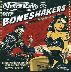 VINCE-RAY-the-Boneshakers-Somebodys-Gonna-CD-EP-Psychobilly-Rockabilly