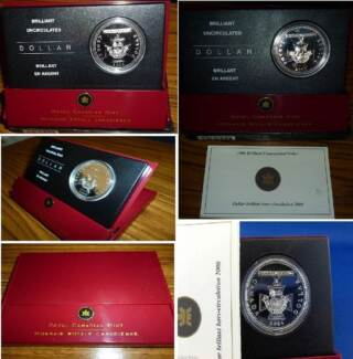Canadian 2006 Victoria Cross Silver Proof $1 Coin in Box. Wembley Cambridge Area Preview