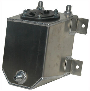 New Rci 1 Gallon Street Strip Aluminum Fuel Cell W Safety