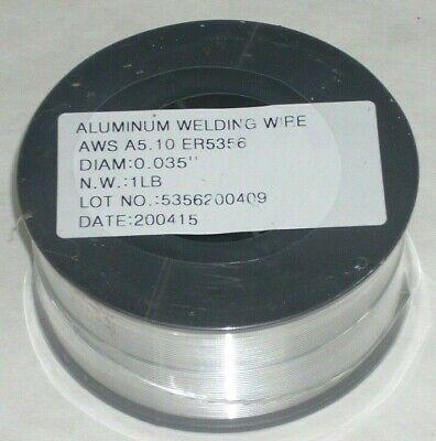 2 Rolls 5356 .035 Aluminum Mig Welding Wire 1 Lb Roll 4 Dia For Spool Guns