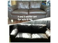 **BARGAIN** 2 and 3 seater sofa set for sale