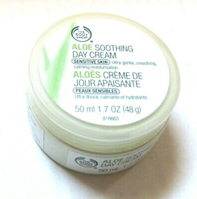 Aloe Soothing Day Cream (The Body Shop Aloe Soothing Day Cream 1.7oz 98% Full  )