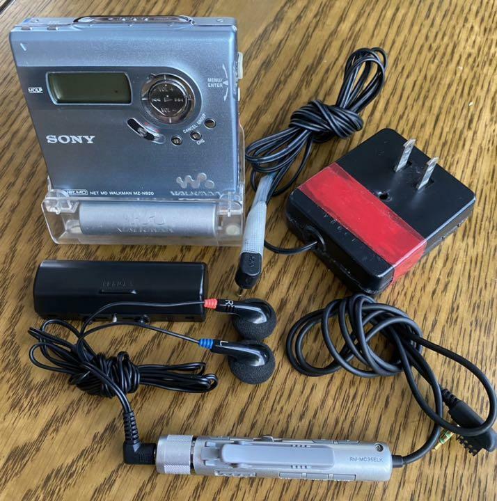 SONY MZ-N920 Walkman MD Playe