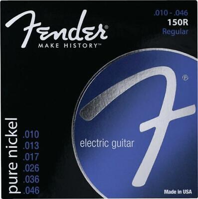 Fender Nickel Ball - 0730150406 Fender 150R Pure Nickel Ball End 10-46 Guitar Strings