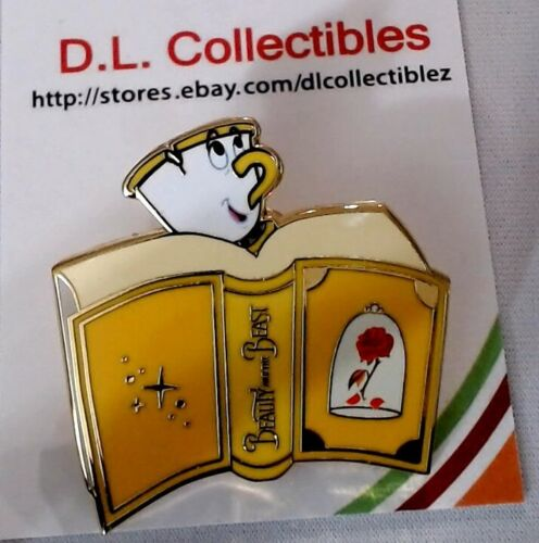 Disney Beauty and the Beast Loungefly Princess Books Blind Box Series Chip Pin