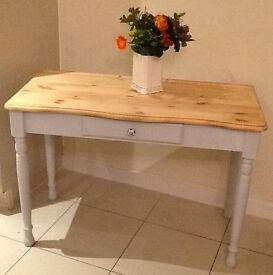 Pine, painted dressing table, desk, hall table, console table . DELIVERY AVAILABLE