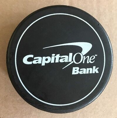 Capital One Bank Promotional Promo Hockey Puck Al Nunan Commercial Lending