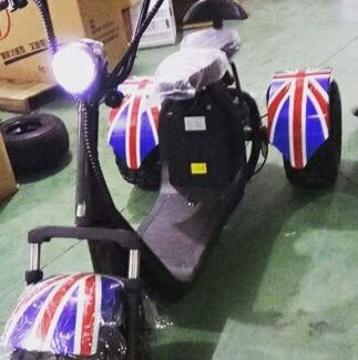 Trike Electric Fat Boy Scooters Australia