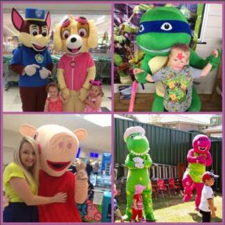 kids parties characters Teralba Lake Macquarie Area Preview