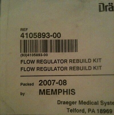 Oem Drager Medical Anesthesia Part 4105893 New In Factory Packaging
