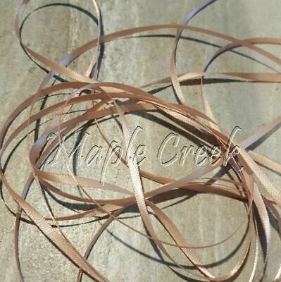 1/8' Double Face Satin Ribbon - 20yd of Rose Gold 1/8