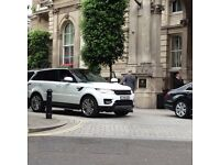 Wedding Car Hire Leicester Chauffeur Driven Service - New Range Rover Sport - New Merc Convertible