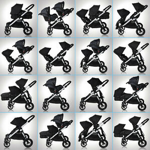 Baby Jogger city select Double Brand New in Box black