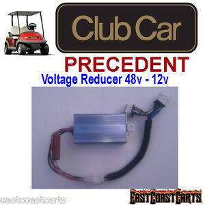 Club Car Precedent Golf Cart Light Kit VOLTAGE REDUCER (Carts w/8volt batteries)