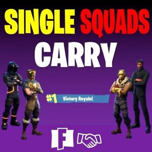 FORTNITE CARRIES FAST WINS DUOS & SQUADS