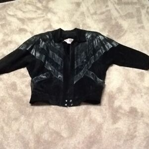 Ladies Suede /Leather Jacket / New Condition